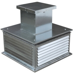 Крышный вентилятор ВКРC №3.55, 0,37 кВт