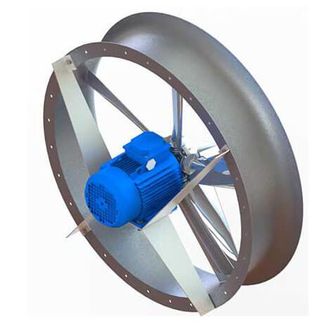 Осевой реверсивный вентилятор ADW-450
