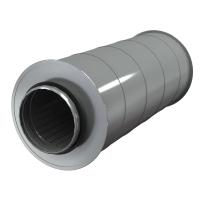 Шумоглушитель для круглых воздуховодов AKS 100/6