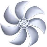 Осевые вентиляторы Ziehl-Abegg серия FE