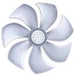 Осевые вентиляторы Ziehl-Abegg , серия FL