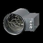 Круглый канальный нагреватель электрический