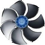 Осевые вентиляторы Ziehl-Abegg , серия Little Blue AC-motor