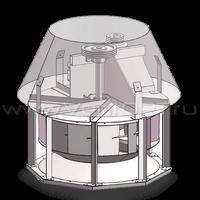 Крышный вентилятор ВКР-12,5 , 4 кВт